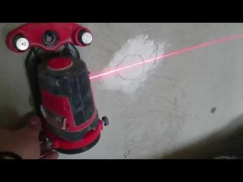 видео: лазерный уровень, тест как проверить и отрегулировать плоскость. laser levelling secrets.