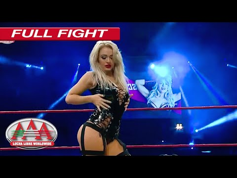 Debut de Scarlett Bordeaux en Ring Rock StAAArs | Lucha Libre AAA Worldwide