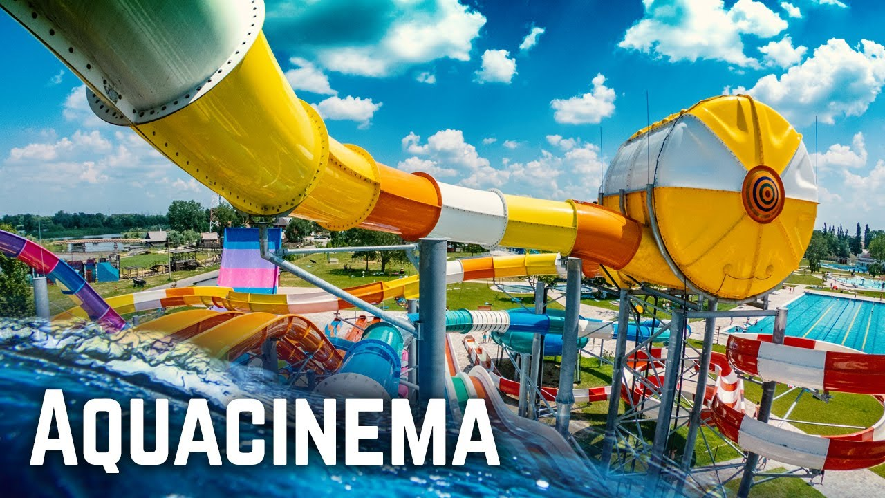 Download GIANT Water Park in Hungary: Aquacinema Kisvárda (Slides)