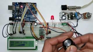 Video Arduino FM Radio with TEA5767 Module, v1 download MP3, 3GP, MP4, WEBM, AVI, FLV Juli 2018