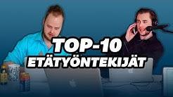 TOP-10 Etätyöntekijät | Korroosio