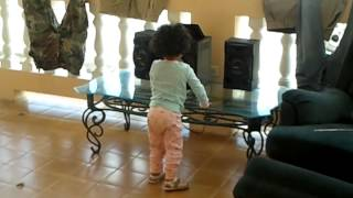 my 2 years old baby dancing