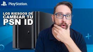 Cambio de nombre en PSN y los riegos de cambiar de ID