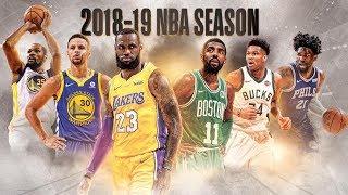NBA 2018-19 Season Pump-Up