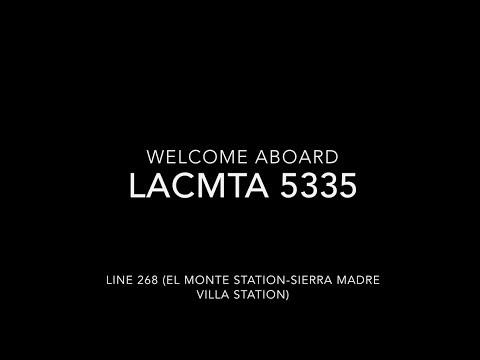 (NO HVAC) LACMTA 2001 New Flyer C40LF #5335 | Coin Lloyd's Transit Hub