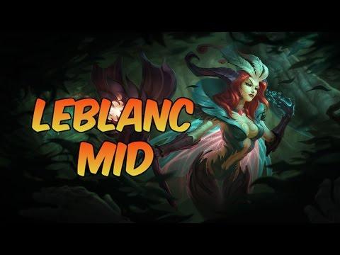 League of Legends - Elderwood LeBlanc Mid - Full Game Commentary