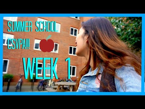 CSVPA Musical Theatre Summer Course - Week 1