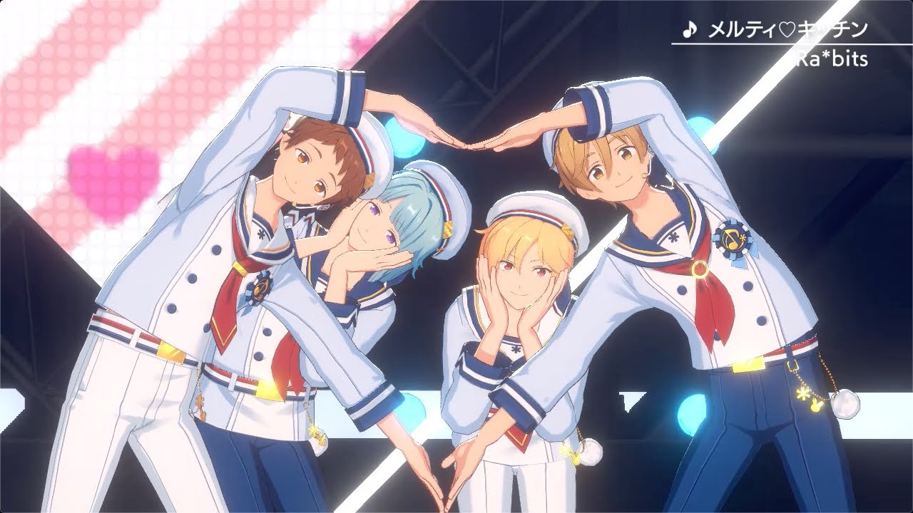 あんさんぶるスターズ!! Music ゲームサイズMV「メルティ♡キッチン」