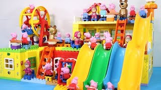 Lego House With Water Slide Building Toys   Lego Creations Toys For Kids #9