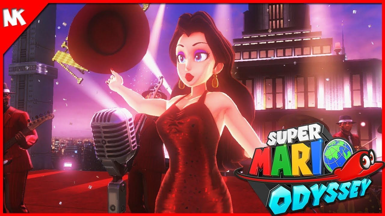 Mayor Pauline Super Mario Odyssey Part 8