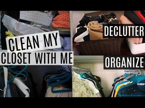 Spring Cleaning My Closet | How To Declutter & Organize Clothes