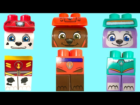 Thumbnail: Best Learning Colors Video - Paw Patrol Marshall Everest Zuma Ionix Legos