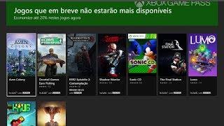 10 Jogos estão deixando o Xbox Game Pass em Fevereiro