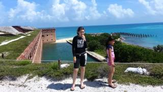 Fort Jefferson and a Harbor