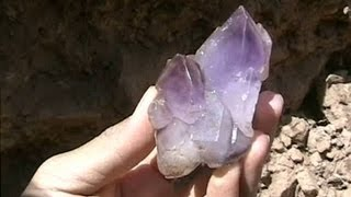 Digging for Amethyst