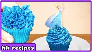Cupcake Mania  Disney Frozen Sparkle Princess Elsa Cupcakes  Birthday Cupcakes