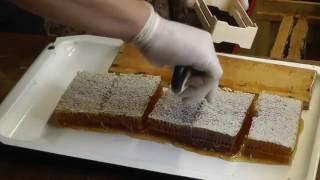 Универсальная технология получения секционного сотового меда(Этот способ получения секционного сотового меда применим для мини-рамок любых форм и размеров. Такой подхо..., 2016-10-06T04:57:03.000Z)