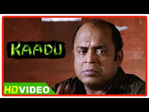 Kaadu Tamil Movie Scenes HD | Thambi Ramaiah questions Samskruthy | Vidharth