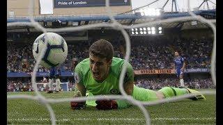 Kepa Arrizabalaga vs Arsenal HD 1080p Incredible saves    ( 18/08/2018 )