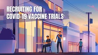 Recruiting for Covid-19 vaccine trials