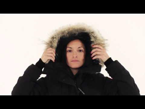 Canada Goose parka outlet cheap - Canada Goose Shelburne Parka Black 3802L - YouTube
