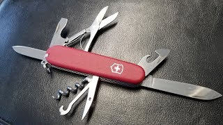 Climber II Swiss Army Knife Unboxing and Review.  Best Cheap Swiss Army Knife?