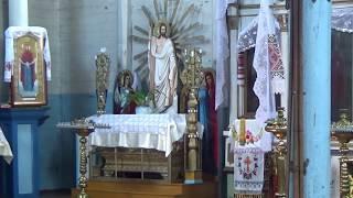 Церковь во время служения/ Деревенские будни моей семьи