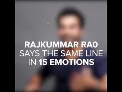 Genius acting of Rajkumar Rao