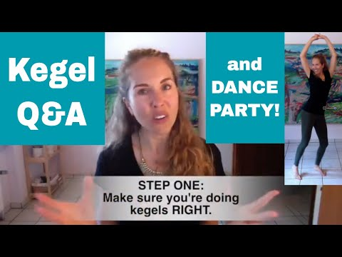 "Dance Party + Q&A: ""I'm doing kegels wrong!"" and exercise overwhelm"