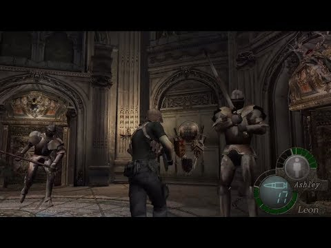 Resident Evil 4 Ps4 Gameplay Part 12 Armored Knights Youtube
