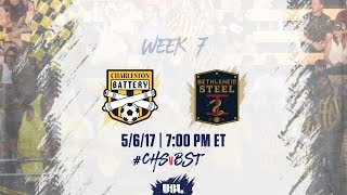 Charleston Battery vs Bethlehem Steel FC full match