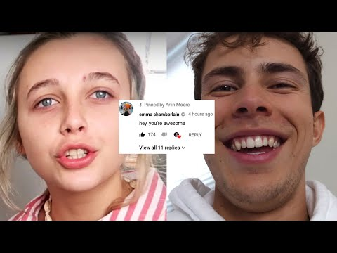 SHE RESPONDED! Why Emma Chamberlain is AWESOME | VLOG⁴ 006