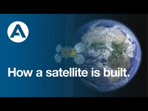 How a satellite is built.
