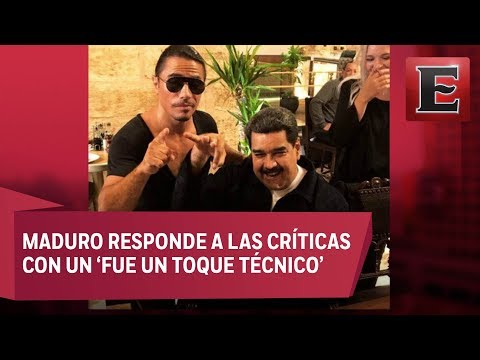 Captan a Nicolás Maduro en restaurante lujoso de Turquía