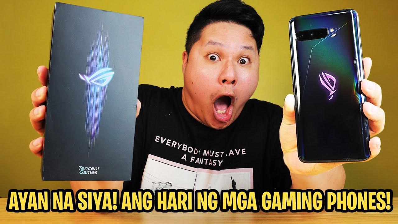 ASUS ROG PHONE 3 - ANG HARI NG MGA GAMING PHONES
