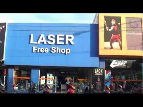 Laser Free Shop, Chuy, Uruguay