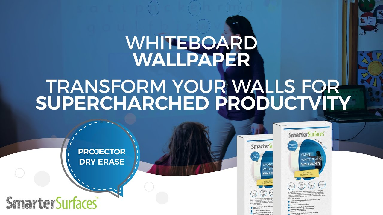 How To Apply Whiteboard Wallpaper