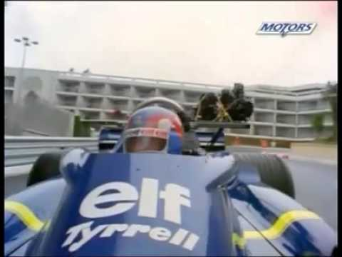 Patrick Depailler on board @Monaco - Tyrrell/Ford P34
