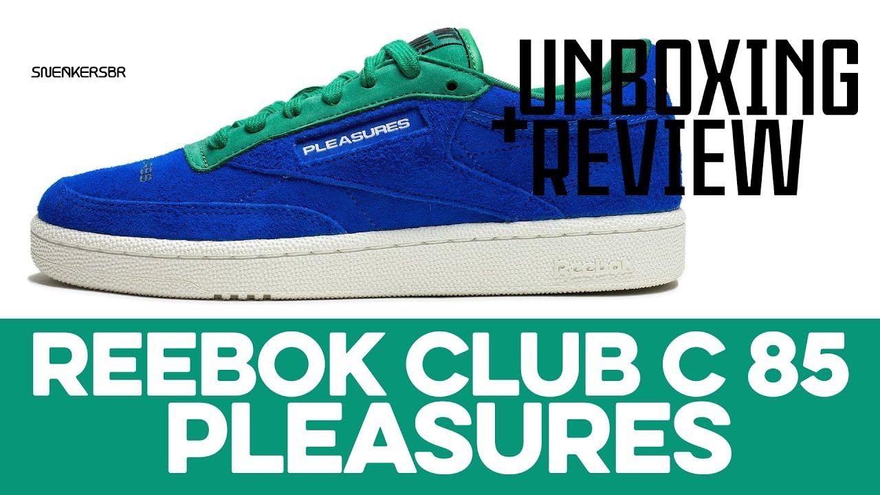 reebok x pleasures club c