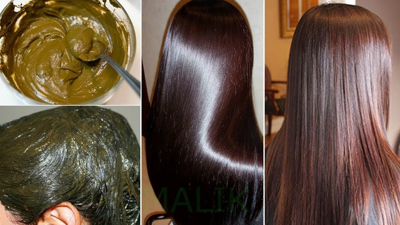 Mehndi For Shiny Hair : How to apply henna hair at home for