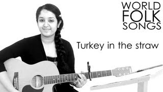 World Folk Songs | Turkey In The Straw | American Folk Song