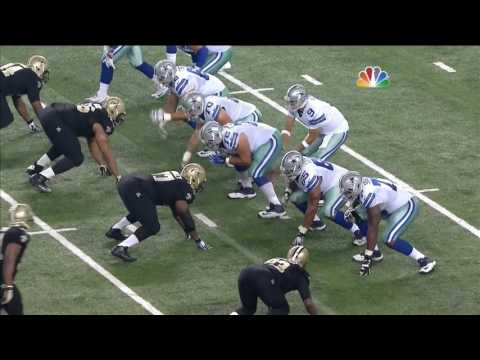 Demarco Murray making fools of the Saints defense - 09/28/2014
