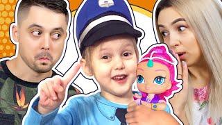 СЛОМАЛИ КУКЛУ! Кто ее сломал : Мама или Папа? Амелька настоящий Детектив ищет улики! Видео для детей