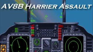 Tutuala Strike - A tribute to AV8B Harrier Assault (DOS Game, 1992)