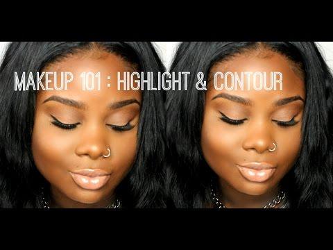 ♥ Makeup 101: Natural Highlight & Contour
