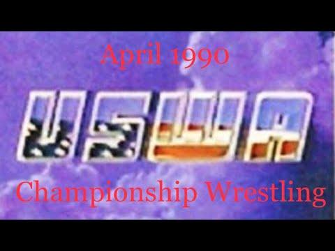 USWA House Show April 1990