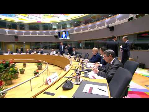 Meeting of the European Council
