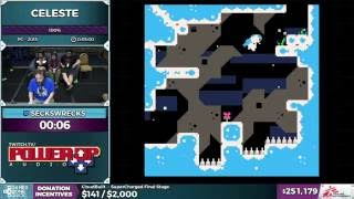 Celeste by SecksWrecks in 2:58 - SGDQ 2016 - Part 61