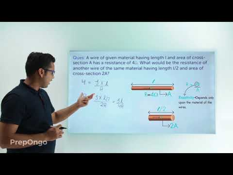Electricity Class 10 | Resistance of Conductor - Numerical - 2