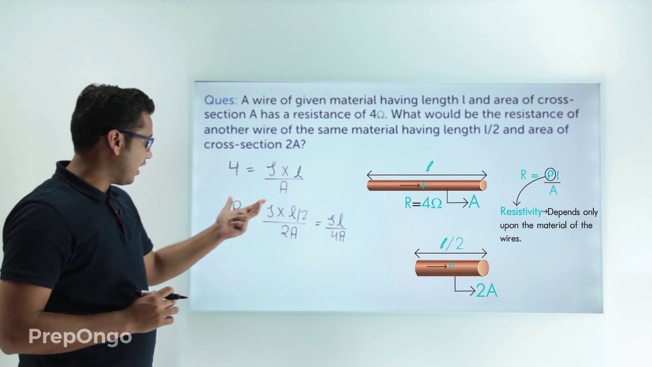Electricity Class 10 | Resistance of Conductor - Numerical - 2 - YouTube